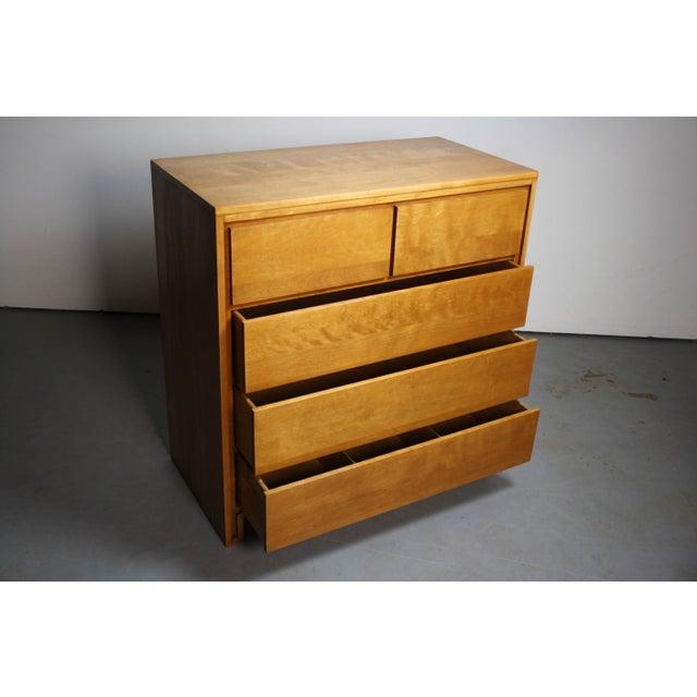 Danish Modern Russel Wright & Conant Ball Mid-Century Modern Tall Dresser For Sale - Image 3 of 5