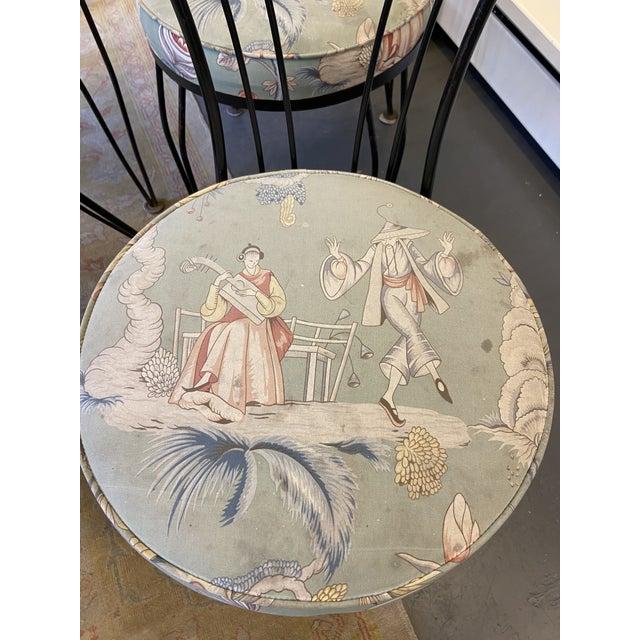 1950s 1950s Vintage Garden Chairs - Set of 4 For Sale - Image 5 of 7