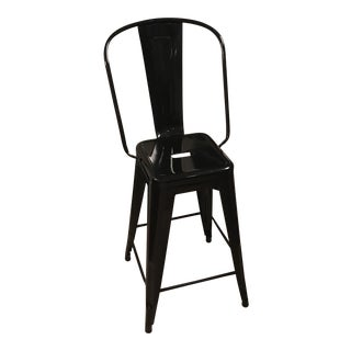 Tolix Counter Stool With Back