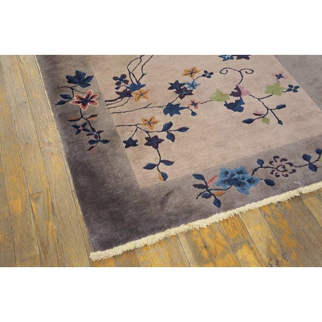 Antique Art Deco Chinese Rug For Sale - Image 4 of 6