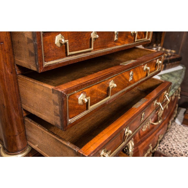 Late 19th C. Directoire Chest With Marble Top For Sale - Image 4 of 10