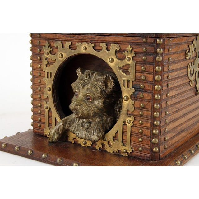 Black Forest 19th Century Antique Black Forest Cigar Box For Sale - Image 3 of 7