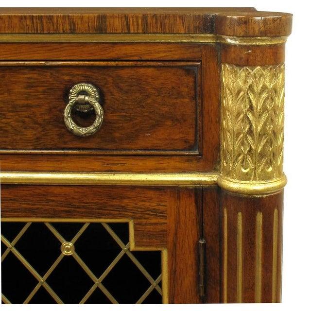 Arthur Brett & Sons Regency Style Rosewood Sideboard For Sale In Chicago - Image 6 of 10