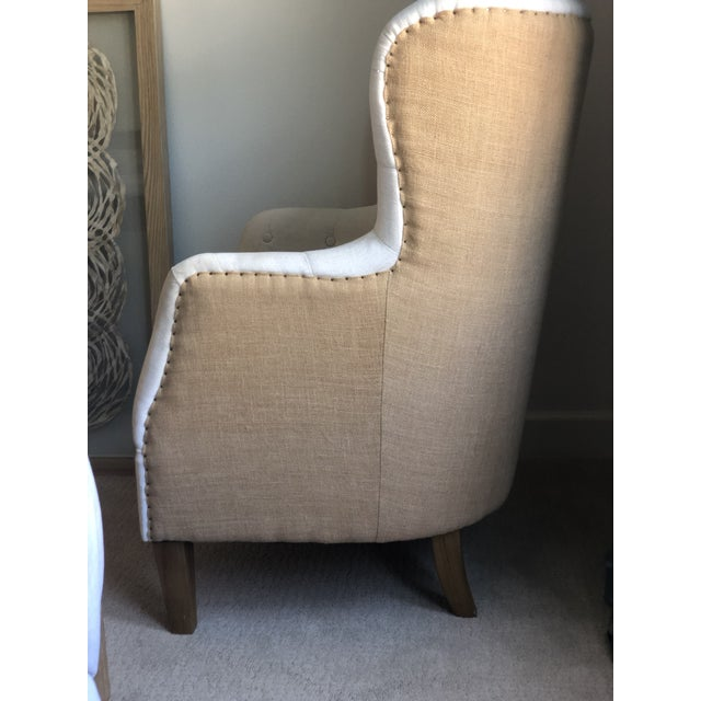 Tufted Arm Chair For Sale In Los Angeles - Image 6 of 9