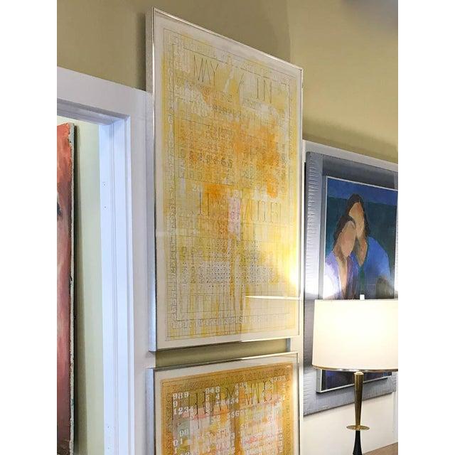 Listed Artist Darryl Nettles Painting - Calendar #1 - Image 2 of 9
