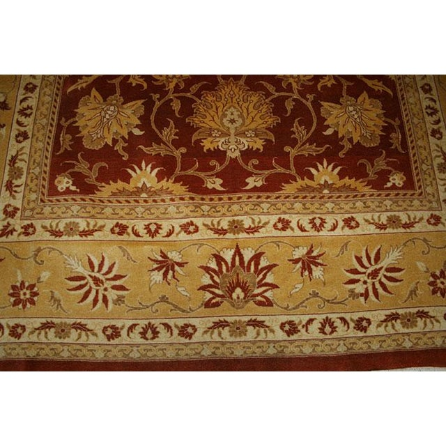 Contemporary Persian Tabriz Rug - 8' X 11' For Sale - Image 3 of 5