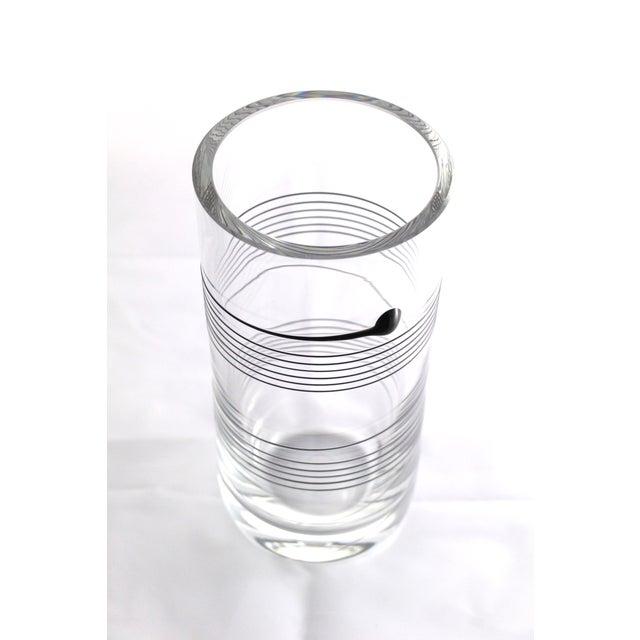 Bertil Vallien for Boda Signed Spin Vase - Image 4 of 7