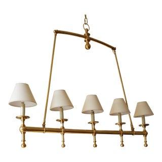 Brass Dining Room Ceiling Light