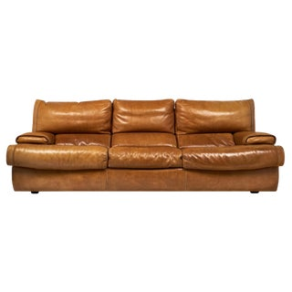 Italian Baxter Leather Sofa