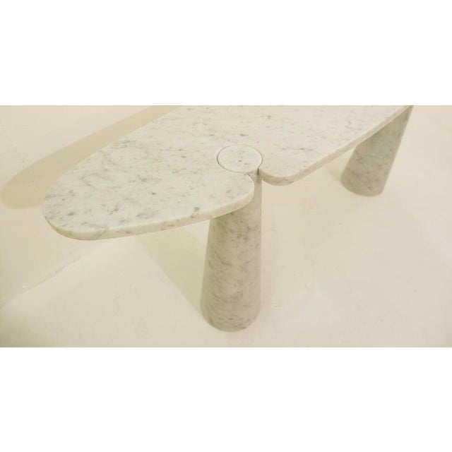Italian Console in Marble by Angelo Mangiarotti For Sale - Image 3 of 6