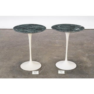 Pair of Marble Eero Saarinen Tulip Side Tables, Knoll, Usa, 1970s Preview