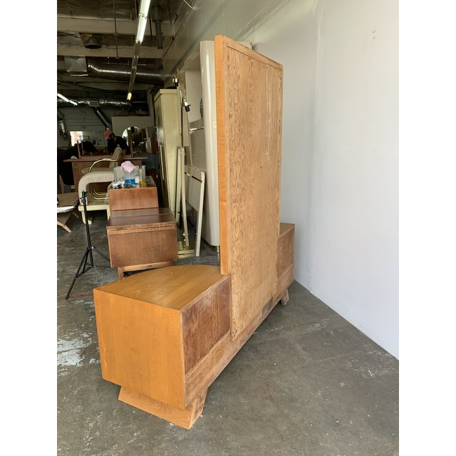 Mid-Century Modern Paul Frankl for Brown and Saltman Vanity For Sale - Image 3 of 13