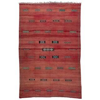 Akhnif Ait Ouaouzguite Vintage Moroccan Rug - 10′4″ × 15′10″ For Sale