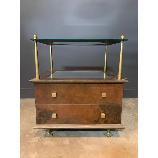 2010s Julian Chichester Getty Nightstand For Sale - Image 5 of 5