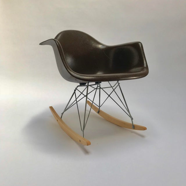 Vintage Eames Rocking Chair For Sale - Image 11 of 11