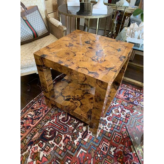 2010s Kravet Andrews Shell Side Table For Sale - Image 5 of 7