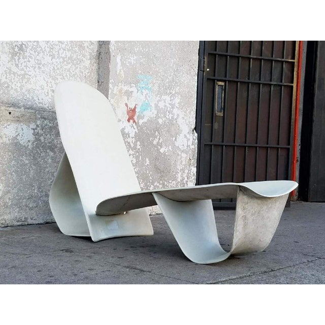 1971 Fiberglass Lounge Chair by Po Shun Leong Shown at Lacma For Sale In Los Angeles - Image 6 of 6
