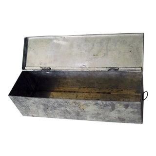 Antique Primitive Tin Candle Box