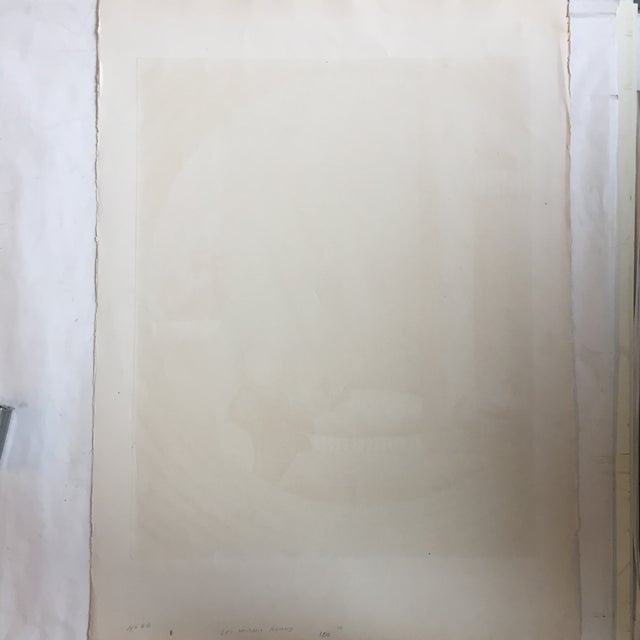 Vintage Eli's Abrahami Original Lithograph For Sale - Image 5 of 7
