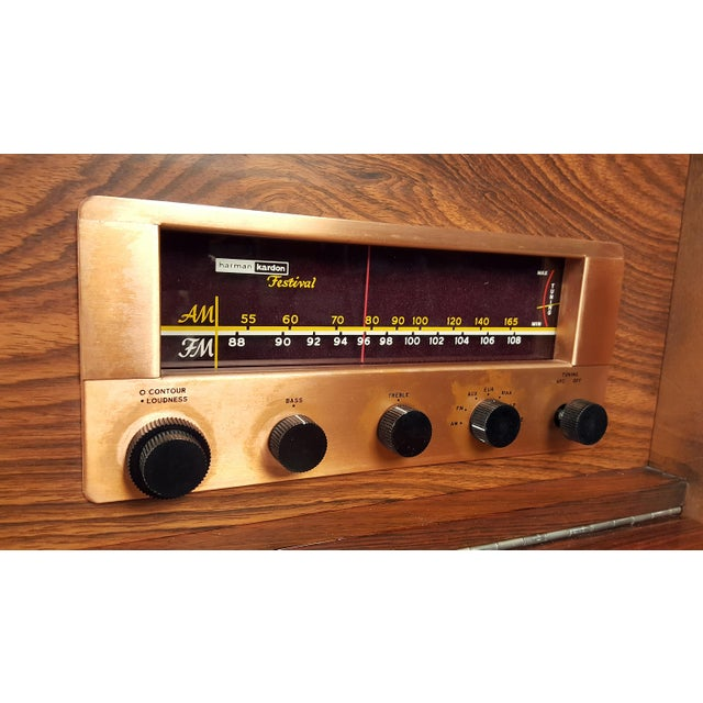 Brown George Nelson Brazilian Rosewood Thin Edge Stereo Cabinet For Sale - Image 8 of 11