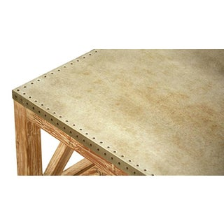 Zinc Top Reclaimed Pine Coffee Table Preview