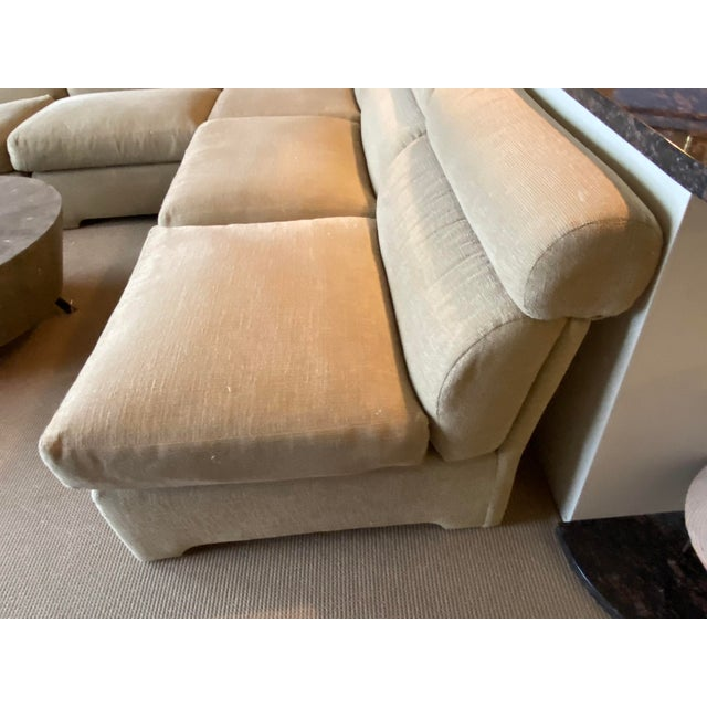 1970s 1970's Modular Sectional Sofa for Directional For Sale - Image 5 of 13
