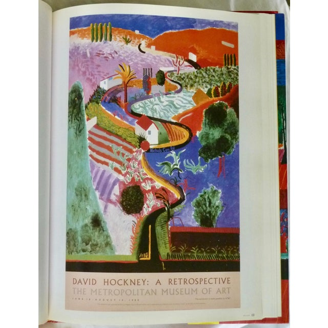 Paper David Hockney: Poster Art Book by Brian Baggot For Sale - Image 7 of 8