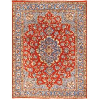 """Vintage Persian Tabriz Rug, 6'8"""" X 8'7"""" For Sale"""