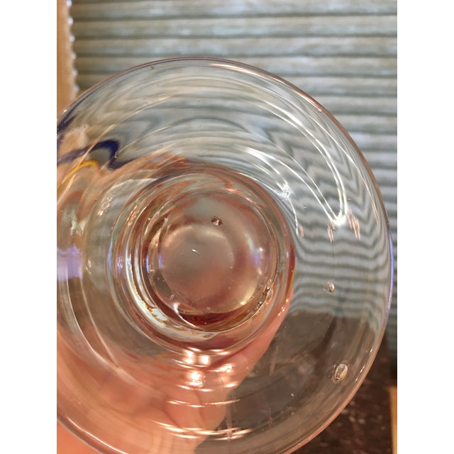 Primary Color Art Glass Vase - Image 8 of 9