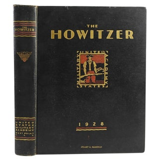 Howitzer 1928 Usma Yearbook West Point For Sale