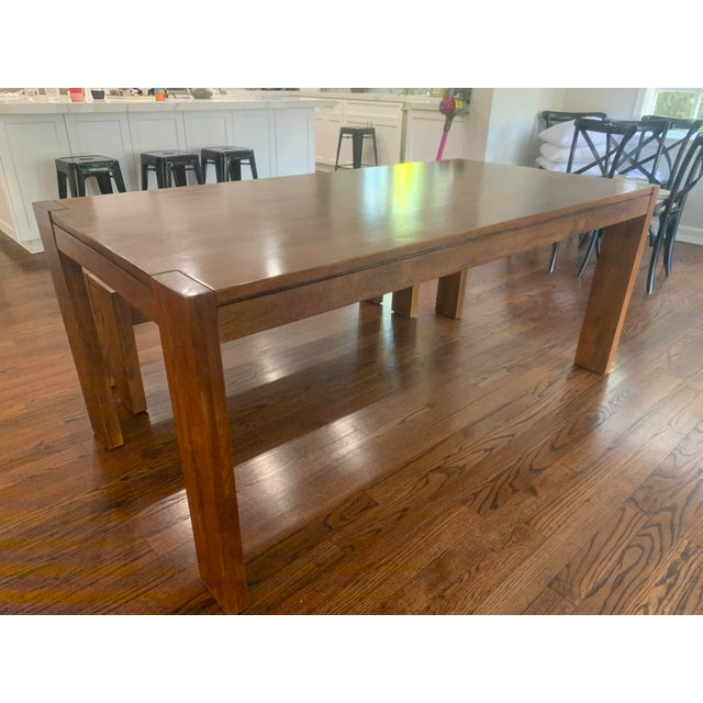 West Elm Boerum Dining Table and Bench 2 Pieces