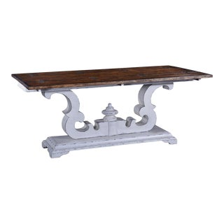Cambridge Console Table Pull-out Side Supports For Sale