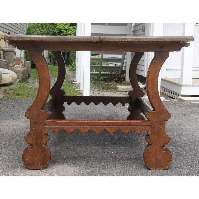 Early 18th Century Spanish Chestnut Center Table For Sale - Image 5 of 7