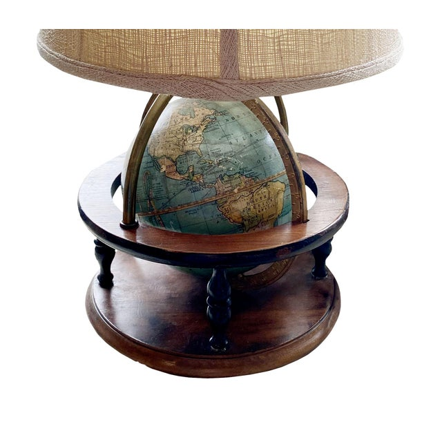 1910s Antique Globe Lamp For Sale - Image 5 of 6