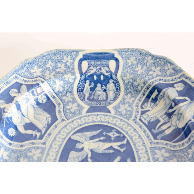 """Spode Two Large Spode """"Greek"""" Platters, England, Early 19th Century For Sale - Image 4 of 9"""