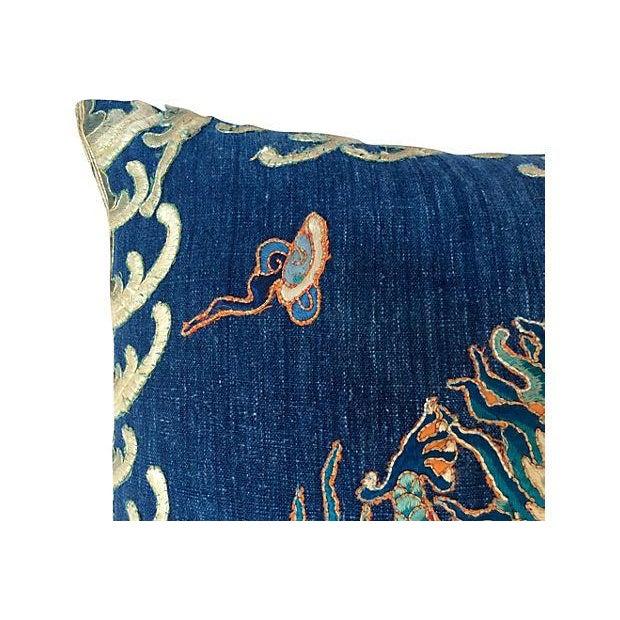 Emperor's Opera Robe Dragon Pillow - Image 3 of 4