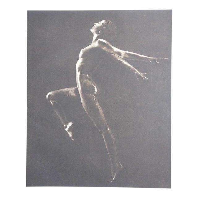 1935 Vintage Art Deco Nude Photogravure - Image 1 of 3