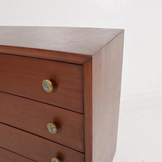 Frank Kyle Mid-Century Mexican Modernist Chest of Drawers by Frank Kyle Pepe Mendoza For Sale - Image 4 of 11
