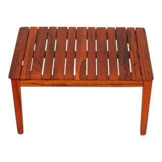 Vintage Danish Rosewood Side Table For Sale