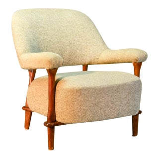 Mid-Century Dutch Design Easy Lounge Armchair by Theo Ruth for Artifort, 1950s