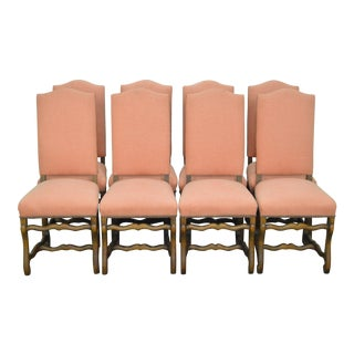 French Country Style Dining Chairs - Set of 8 For Sale