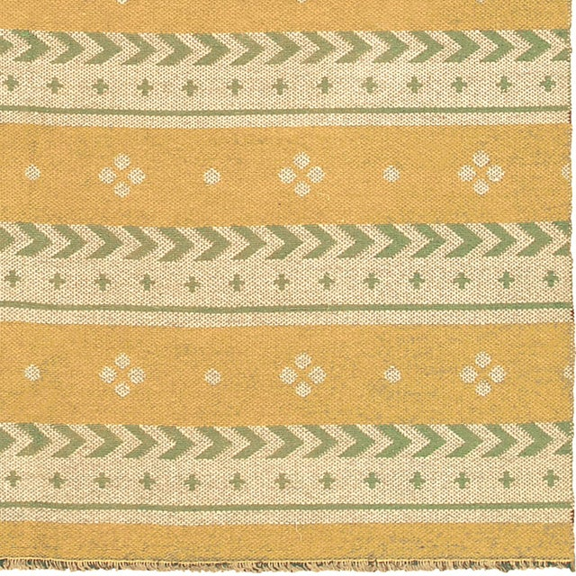 """FJ Hakimian Mid 20th Century Two-Sided Flat Weave Rug - 5'3"""" X 7'9"""" For Sale - Image 4 of 7"""