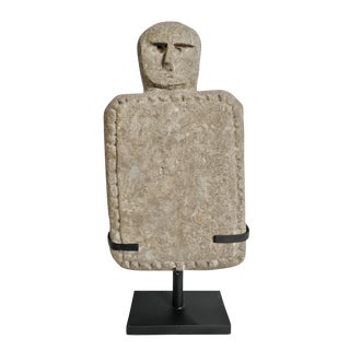 Timor Island Stone Tablet on Stand For Sale