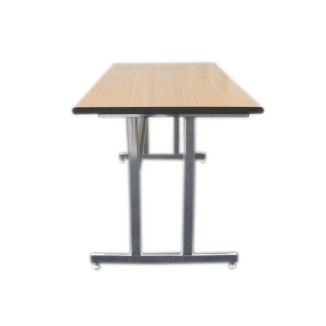Hon Modern Minimalist Metal Desk For Sale - Image 4 of 6