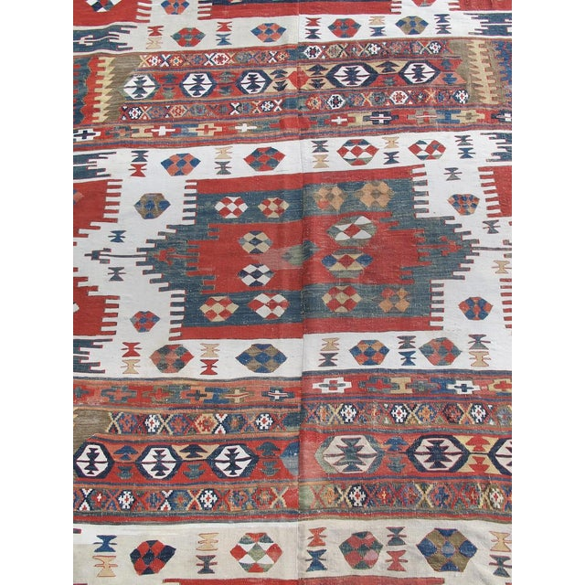 Karapinar Kilim Rug - 5′4″ × 13′ For Sale - Image 4 of 6
