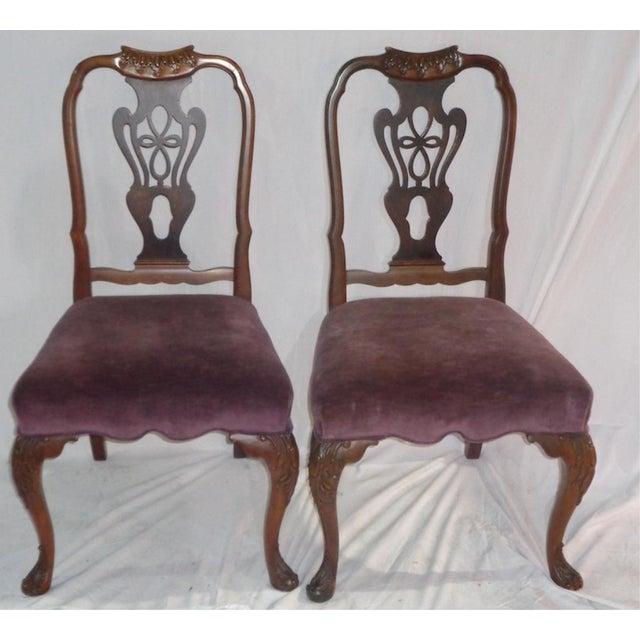 Batesville Mahogany Dining Chairs- Set of 6 - Image 6 of 11