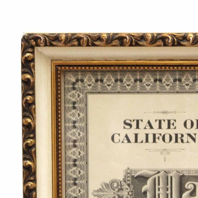 1925 Framed Marriage License - Image 2 of 7