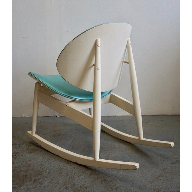 1950s Mid Century Modern Kodawood Rocking Chair For Sale - Image 5 of 8