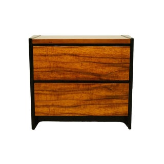 Henredon Furniture Elan Collection Koa Wood Commode For Sale