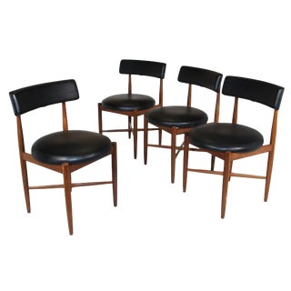 Set of 4 Teak Dining Chairs by G Plan For Sale
